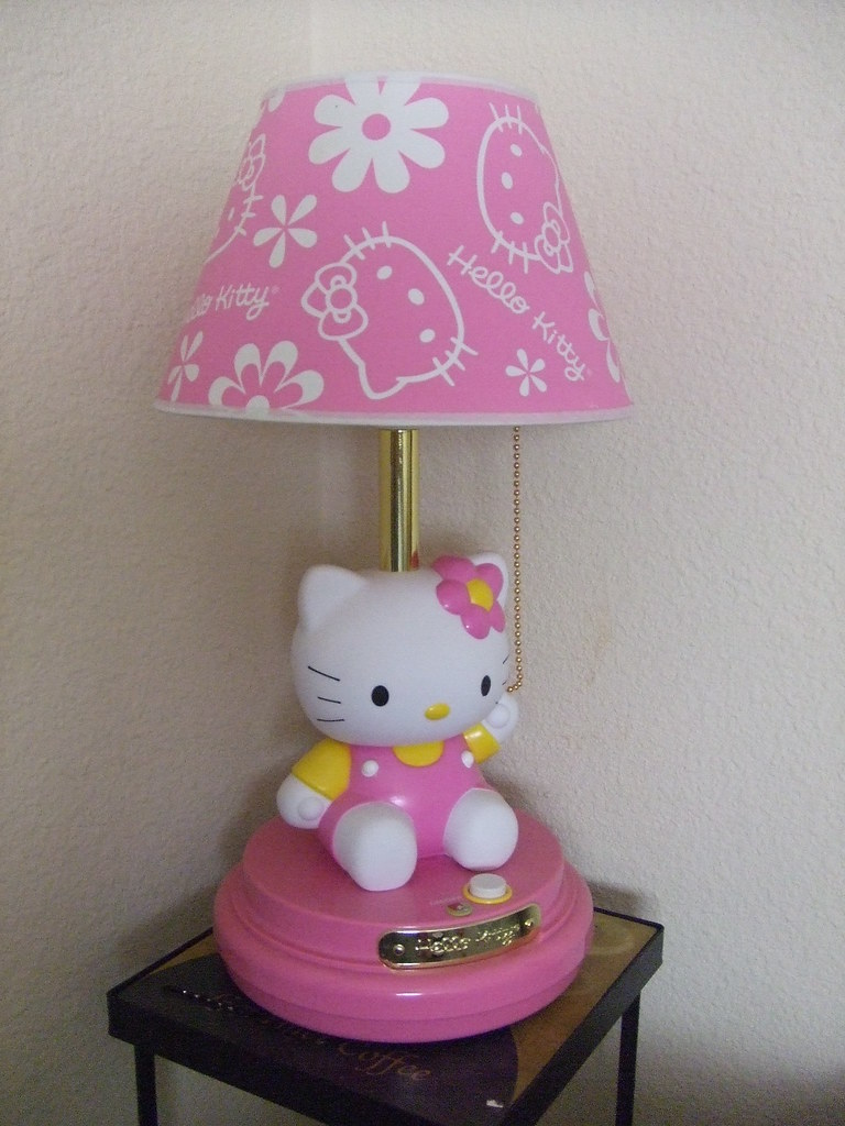 Hello Kitty Lampe Hello Kitty Garden Crib Bedding And