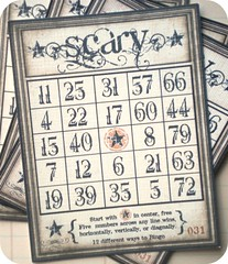 Vintage Scary Halloween Bingo Cards | Available at littlepap… | Flickr