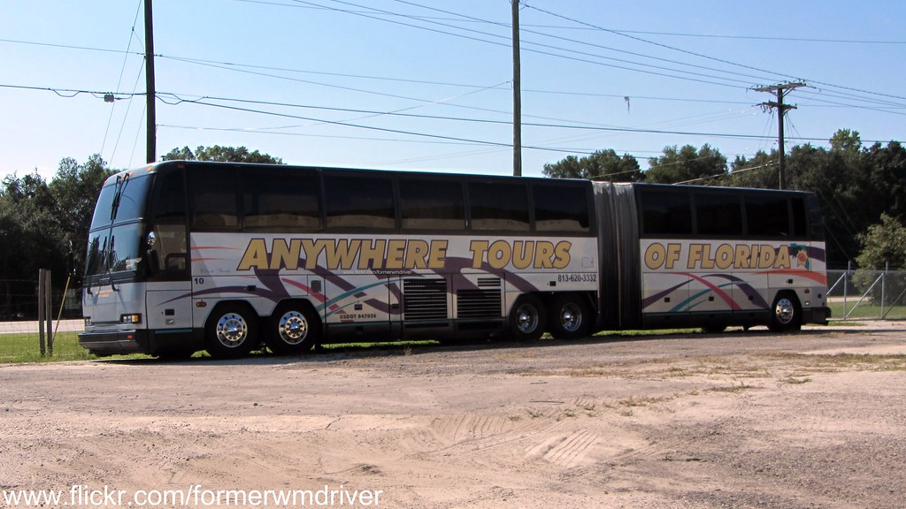 Anywhere Tours Of Florida Prevost Car H5 60 Articulated