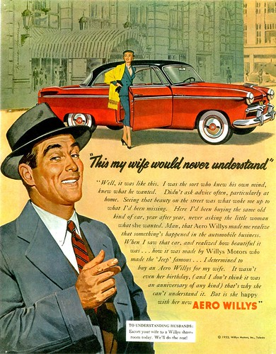 1953 Willys Aero Eagle Hardtop | by aldenjewell