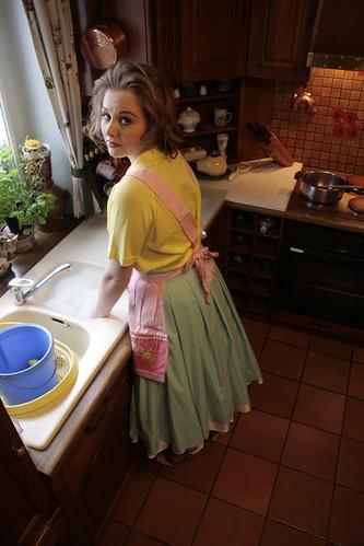 femme au foyer 1960 vieillisement l ger intensit
