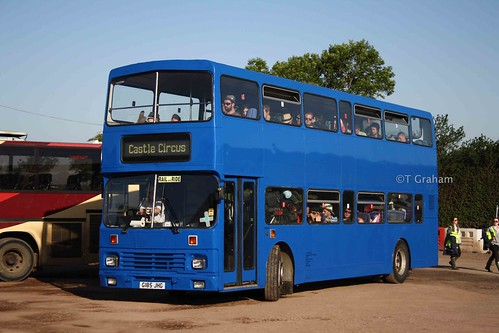 Chepstow Classic Leyland Olympian G185 JHG | by Acceptable in the 90's