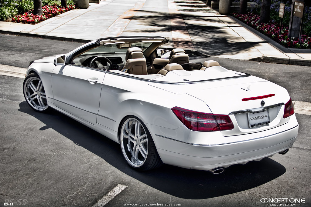 2010 Mbz E350 Coupe Convertible On Concept One Executive R