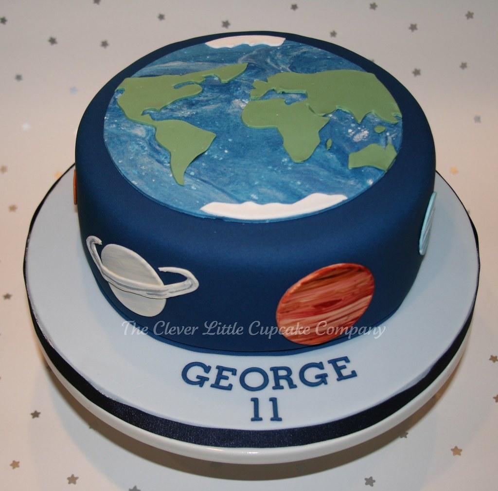 3d solar system birthday cake - photo #22