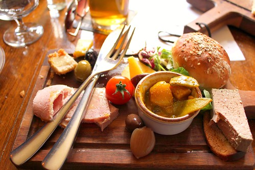 ploughman's lunch at Ebrington Arms, Gloucs | by SeppySills