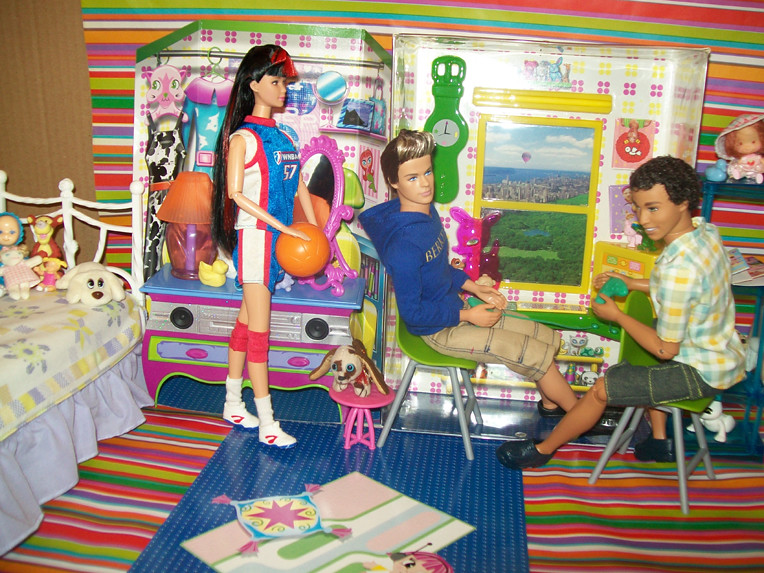 Barbie Generation Girl My Room