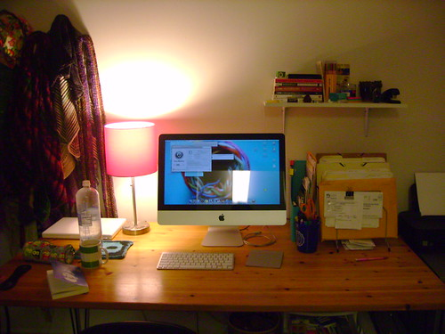 my desk. | by katie:m