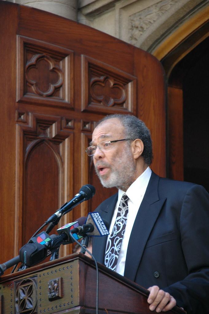 Rev. Dr. William S. Epps, senior pastor, Second Baptist Ch ...
