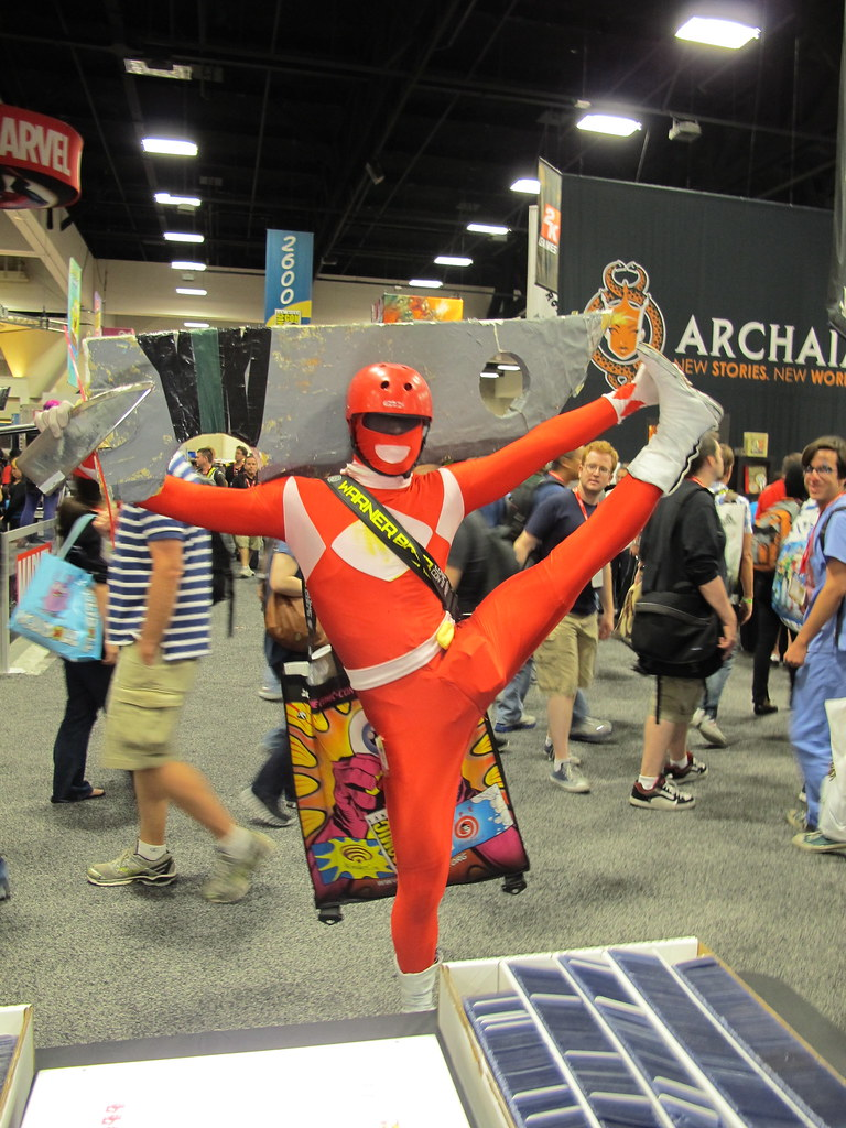 Comic-Con 2011: Yoga Power Ranger | www.roddenberry.com ...