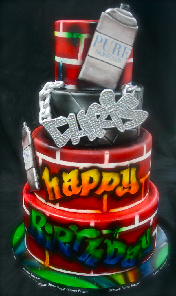 Birthday Cake Chris Brown