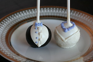 Bride and Groom Cake Pops | by Sweet Lauren Cakes
