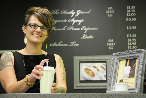 Marie showcases XPress Pressed Coffee | by Smart Cup