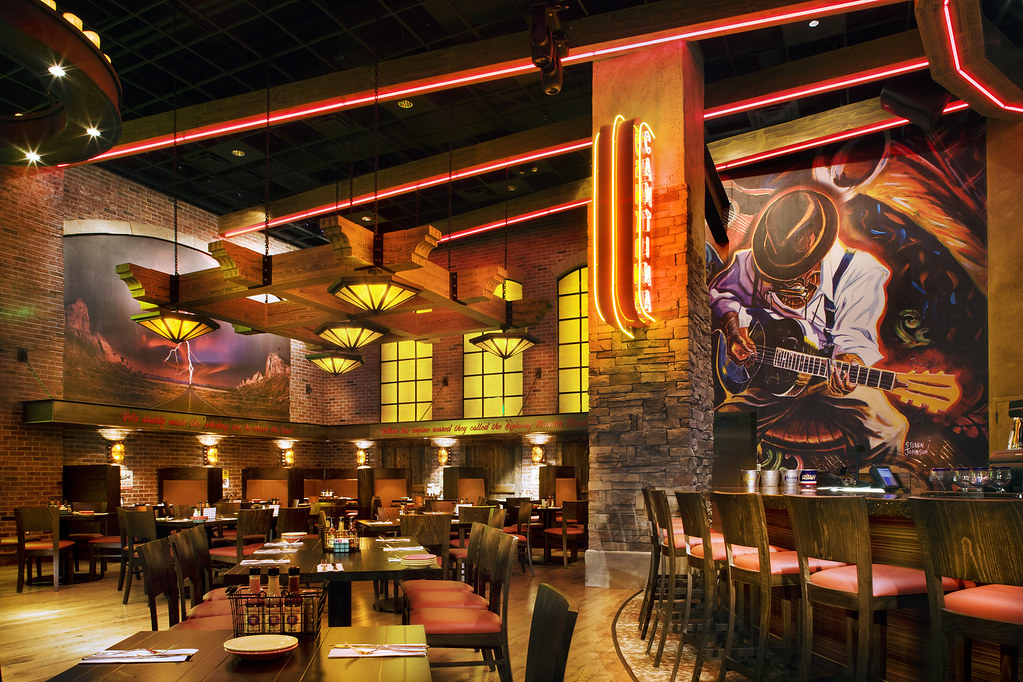 Interior casino restaurant restaurant bar d cor them for S kitchen steak house