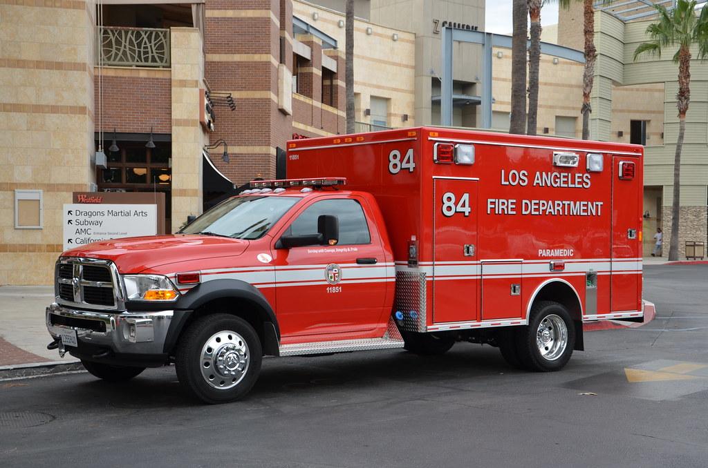 Los Angeles Fire Department Lafd Dodge Rescue Ambulanc