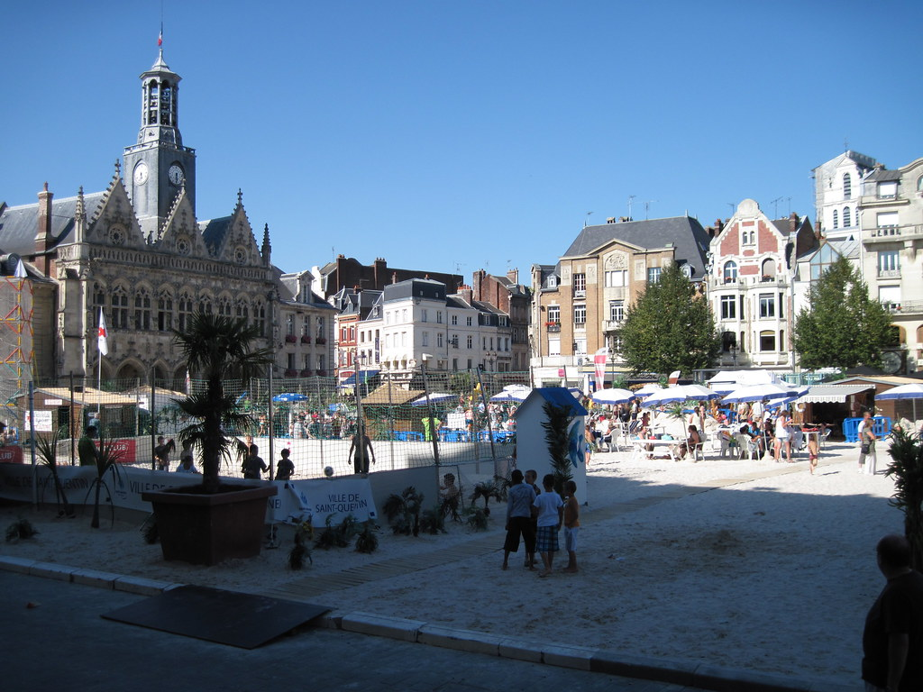 saint quentin france the main square in saint quentin ha flickr. Black Bedroom Furniture Sets. Home Design Ideas