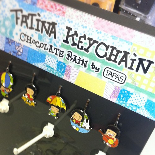 Chocolate Rain Fatina movable keychain arriving city'super/LOG-ON soon! Back To School 2011 | by Patrick Ng