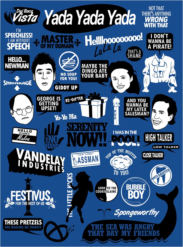 Seinfeld Quotes Seinfeld Quotes  Www.redbubblepeopletomtragertshirt…  Flickr