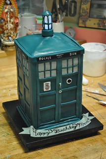 Mini TARDIS | by Broken Sparrow Cakes