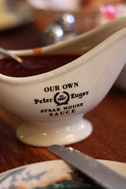 peter luger steak sauce | by David Lebovitz