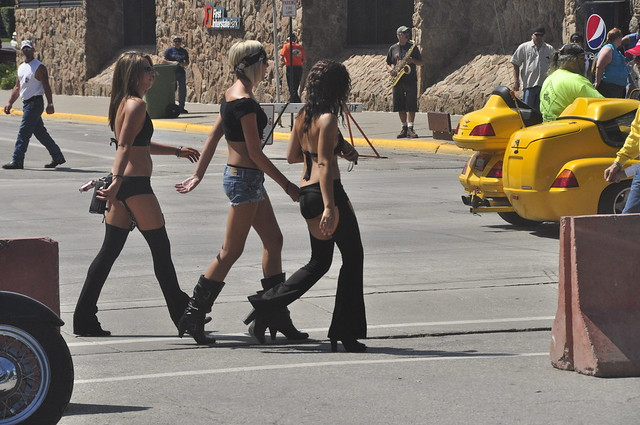 Girls At Sturgis Bike Rally | Flickr - Photo Sharing!