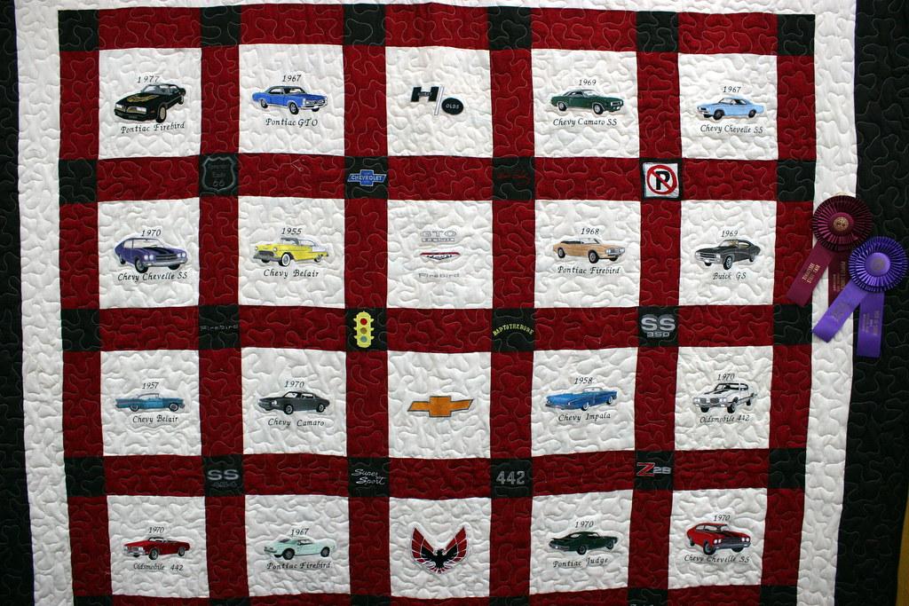 2011 Tn State Fair Creative Arts Muscle Car Quilt Flickr