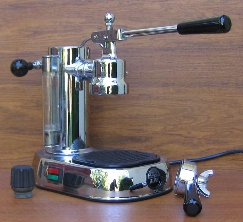 gaggia classic lever espresso maker g105 maker gaggia mod flickr. Black Bedroom Furniture Sets. Home Design Ideas