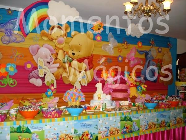 Decoraci n fiestas infantiles winnie pooh beb imagui for Decoracion winnie pooh para fiesta infantil