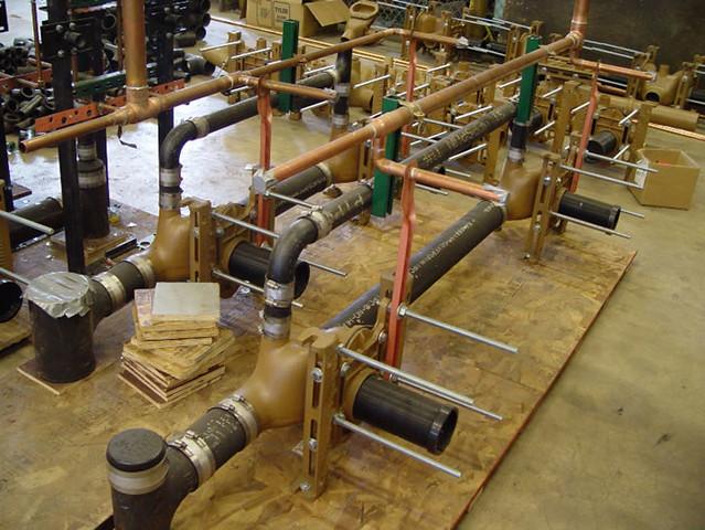 Water Closet Support Installations | Flickr