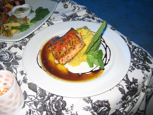 Salmon Steak at The Parva, Bethesda, MD | by Robert Dyer