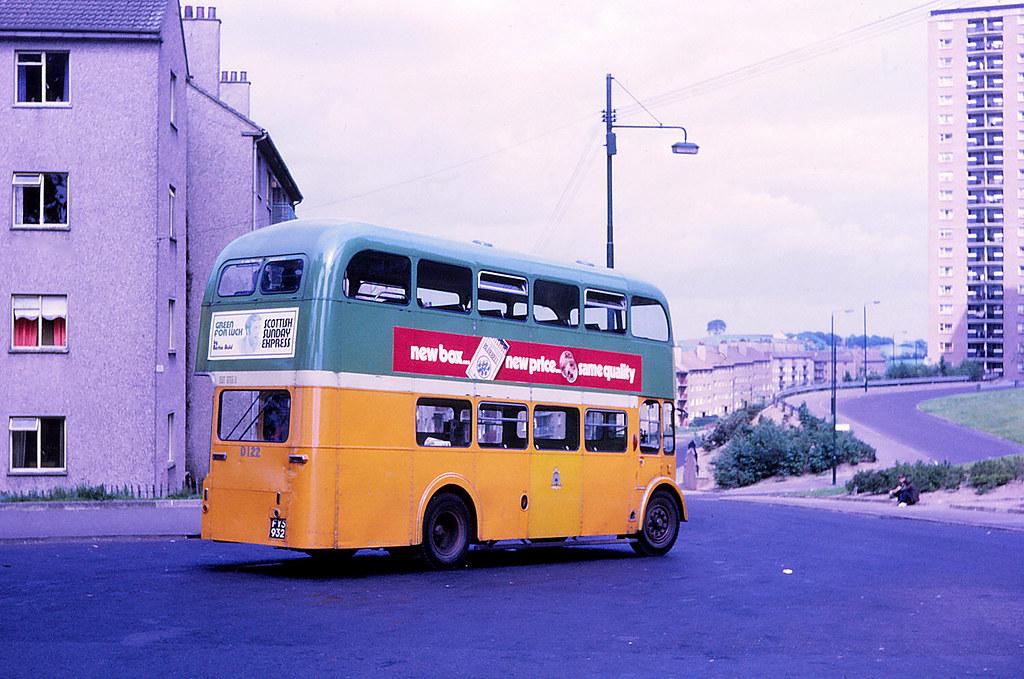 Glasgow Corporation D122 Castlemilk Glasgow Corporation