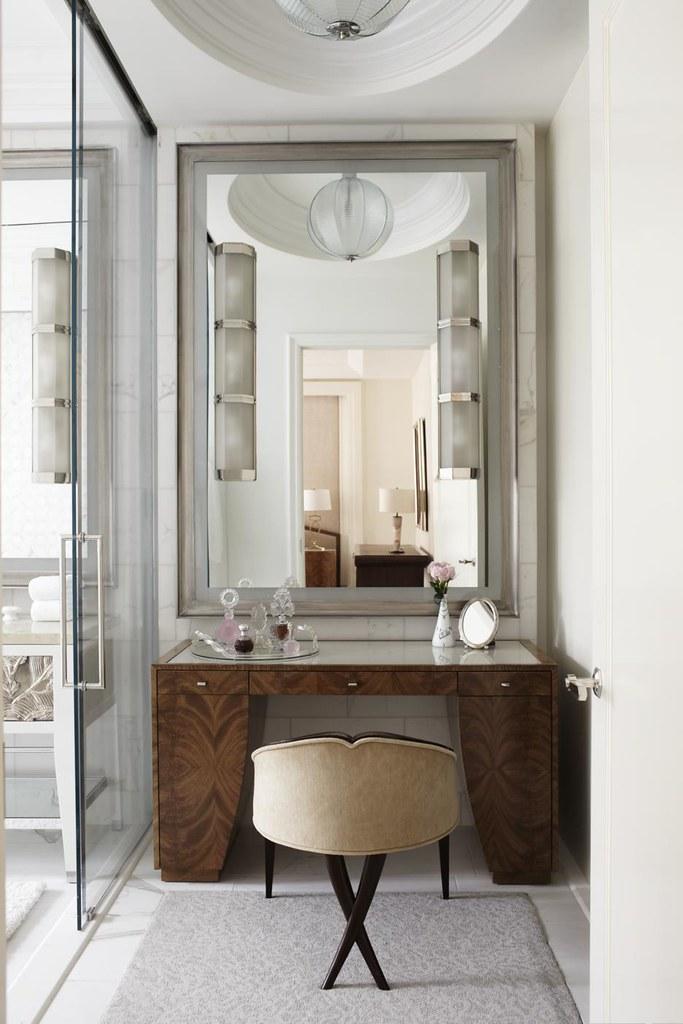 Classic Vanity in Master Bathroom | hawkinsinternationalpr ...