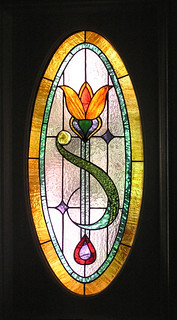 Window32- Nouveau | by Northern Art Glass