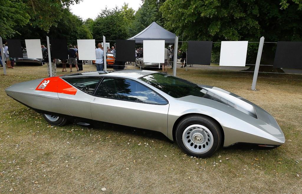 1970 Vauxhall Srv Concept Car G M Press Photo Coconv