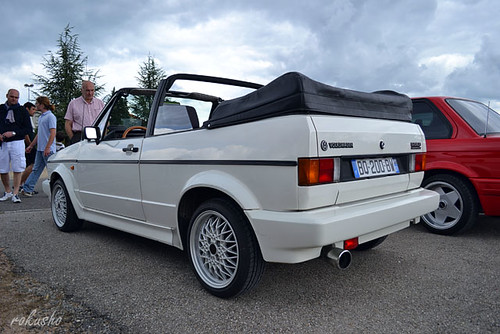 vw golf  cabriolet convertible rokusho flickr