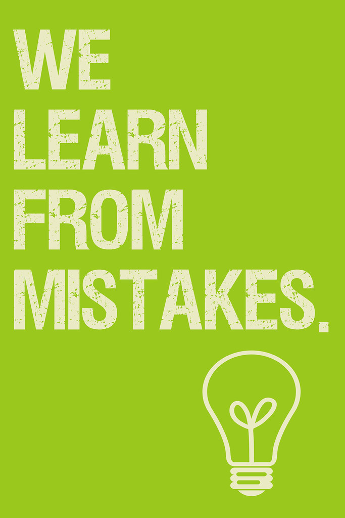 we learn from our mistakes essay