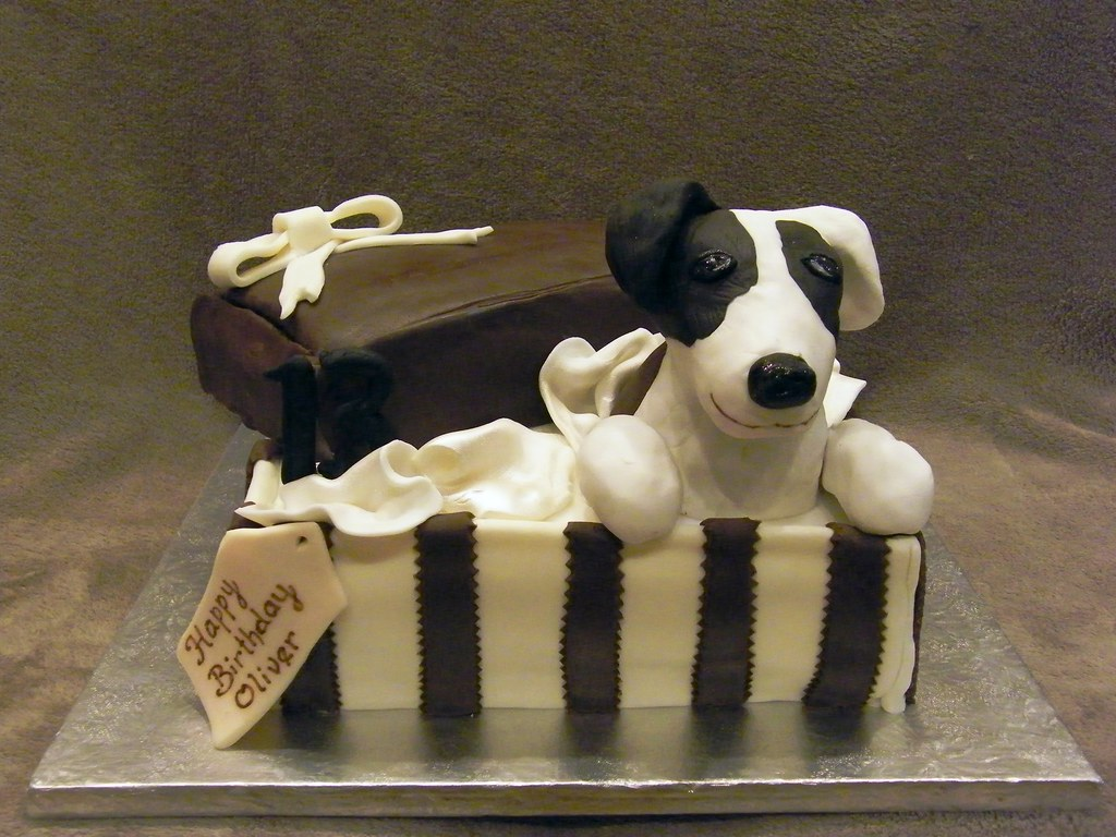 Image Result For Dog Birthday Cake