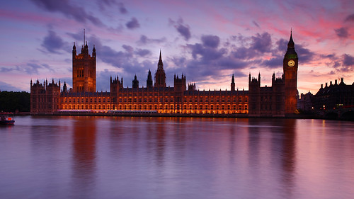 Houses of Parliament at dusk, London, UK | by Eric Hossinger