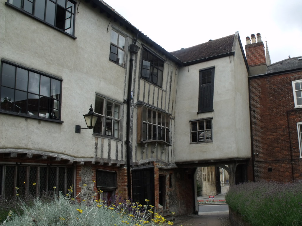 Tombland Alley Norwich Back Of Augustine Steward House