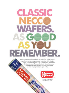 Classic Necco Wafers Return Ad June2011 | by cybele-