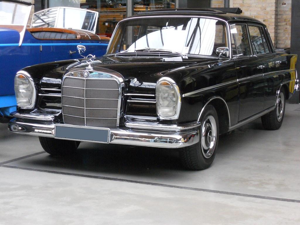 Mercedes Benz 220s W111 1 1963 Mercedes Benz