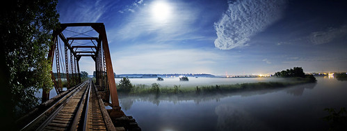 Manistee Rail Bridge Panorama | by Fellowship of the Rich