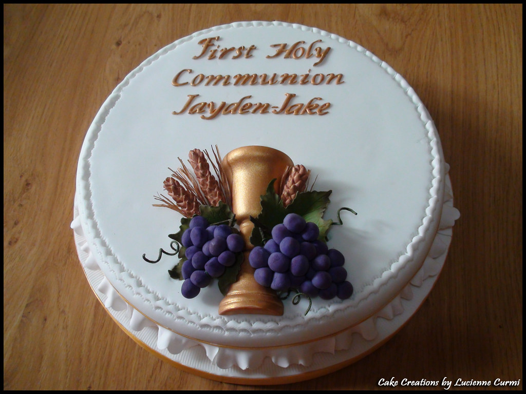 Holy Communion Cake Lucienne Curmi Flickr