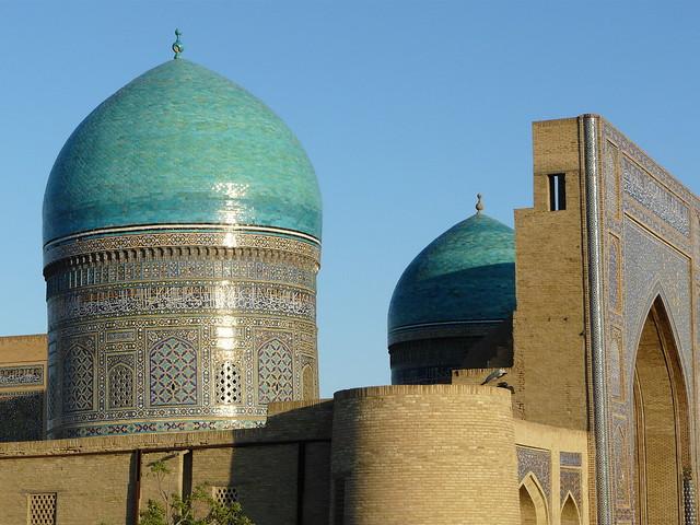 Mezquita en Bukhara (Uzbequistán)
