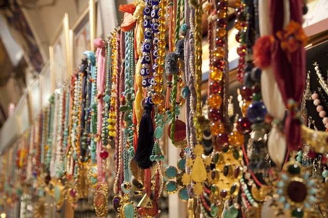 Bazaar of Besiktas jewellery
