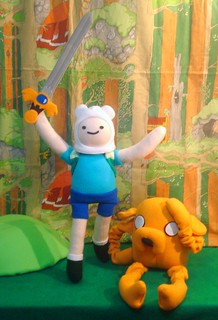 With Jake the Dog and Finn the Human | by Handmade Stuffs