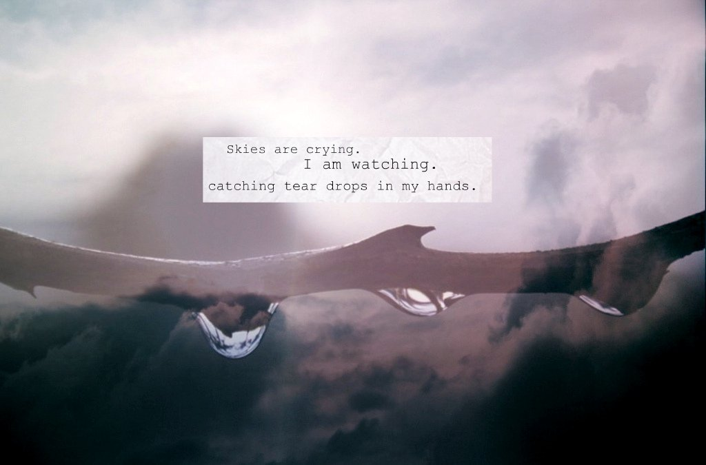 Lyric demi lovato lyrics : Skies are crying. I am watching | catching Tear drops in my … | Flickr