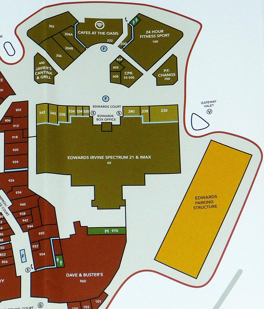 Irvine Spectrum Map Irvine Spectrum Center Map (2) | David Valenzuela | Flickr Irvine Spectrum Map