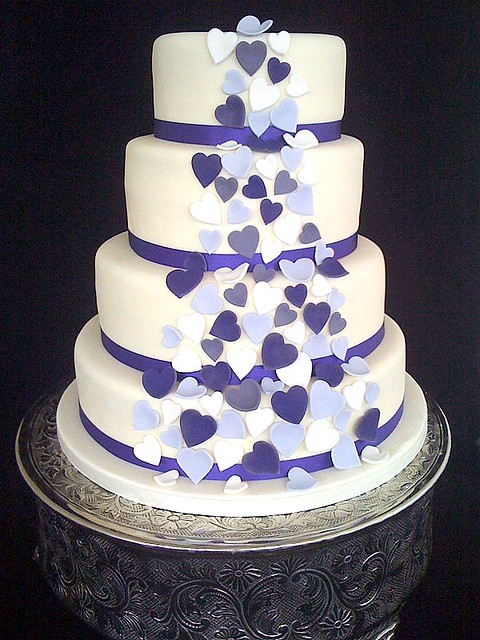 Cake Designs Hearts : High Rocks Wedding Cake 06/08/2011 Flickr - Photo Sharing!