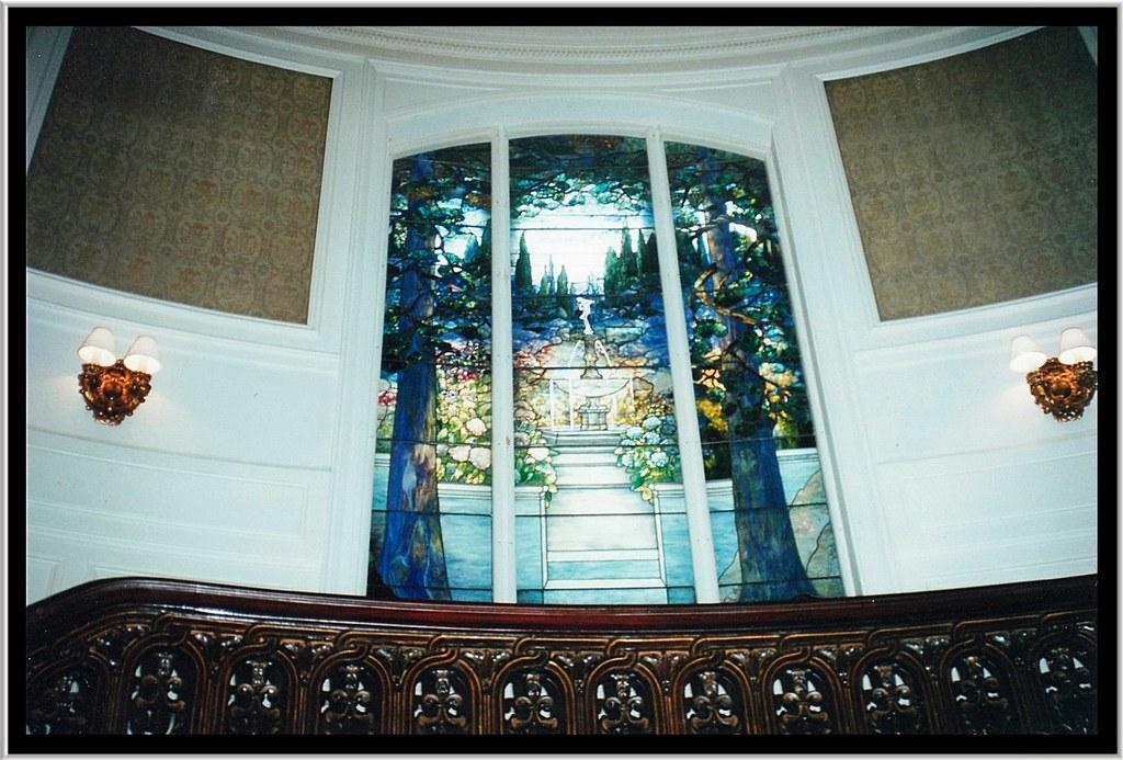 Linden Hall Dawson Pa Tiffany Window Sarah Cochran