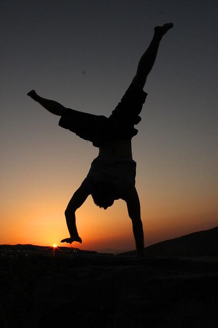 Cartwheel Silhouette Cartwheel silhouetteGymnastics Silhouette Cartwheel
